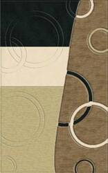 Rugstudio Riley DL14 Black-Snow-Putty-Stone Area Rug