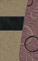 Rugstudio Riley DL14 Silver-Black-Violet Area Rug