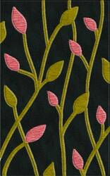 Rugstudio Riley DL22 Black-Avacado-Bubblishous Area Rug