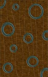 Rugstudio Riley DL23 Caramel-Teal Area Rug