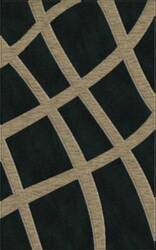 Rugstudio Riley DL24 Black-Silver Area Rug
