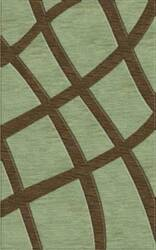 Rugstudio Riley DL24 Seaglass-Fudge Area Rug