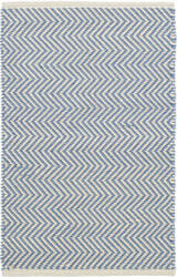 Dash And Albert Arlington Rdb356 French Blue - Ivory Area Rug