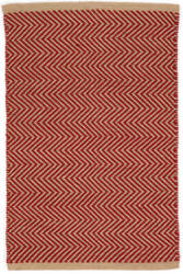 Dash And Albert Arlington Rdb336 Red - Camel Area Rug