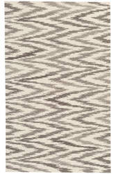 Dash And Albert Chekat Da124 Grey Area Rug