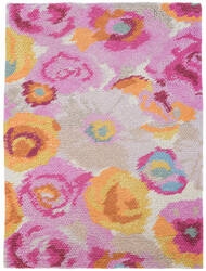 Dash And Albert Clarissa Wool Pink Area Rug