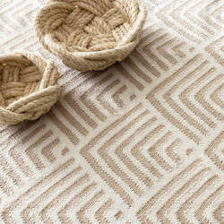 Dash And Albert Cleo 105477 Cement Area Rug