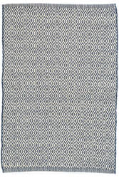 Dash And Albert Crystal Indoor-Outdoor Navy - Ivory Area Rug