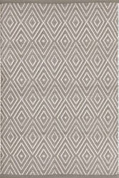 Dash And Albert Diamond 105494 Fieldstone/Ivory Area Rug