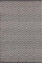 Dash And Albert Diamond 92364 Graphite/Ivory Area Rug