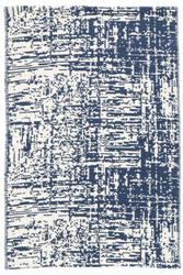 Dash And Albert Drybrush Cotton Blue Area Rug