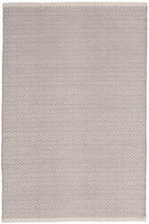 Dash And Albert Herringbone Geometric Dove Grey Area Rug