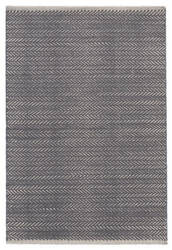 Dash And Albert Herringbone Woven Shale Area Rug