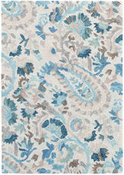 Dash And Albert Ines Hooked Blue Area Rug