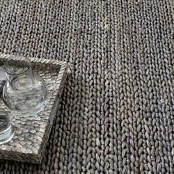 Dash And Albert Jute Woven Shale Grey Area Rug