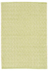 Dash And Albert Lattice Cotton Citrus Area Rug