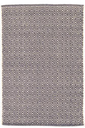 Dash And Albert Lattice Cotton Indigo Area Rug