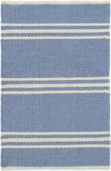 Dash And Albert Lexington Rdb361 French Blue - Ivory Area Rug