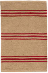 Dash And Albert Lexington Rdb340 Red - Camel Area Rug