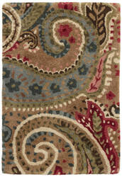 Dash And Albert Lyric Paisley Spice Area Rug