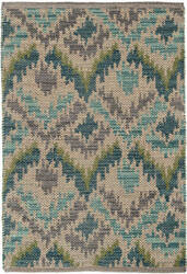 Dash And Albert Medina Woven Green Area Rug