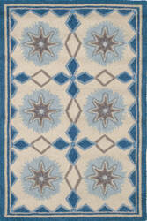 Dash and Albert Navy 56231 Star Area Rug