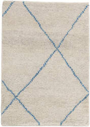 Dash And Albert Numa Knotted Blue Area Rug