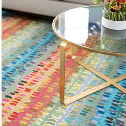 Dash And Albert Paint Chip Wool  Area Rug