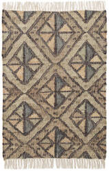 Dash And Albert Pathway Woven Blue Area Rug