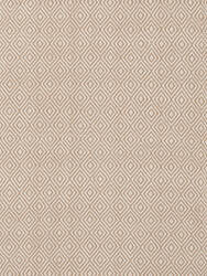 Dash And Albert Petit Diamond RDB352 Khaki - Ivory Area Rug