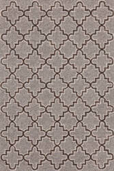 Dash And Albert Plain Tin 105548 Grey Area Rug