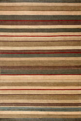 Rugstudio Sample Sale 72665R Stripe Area Rug