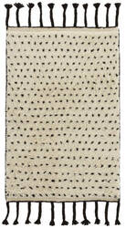 Dash And Albert Speck Hand Knotted Black Area Rug