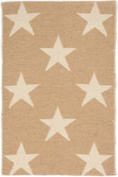 Dash And Albert Star Rdb341 Camel - Ivory Area Rug