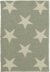 Dash And Albert Star Rdb368 Ocean - Ivory Area Rug