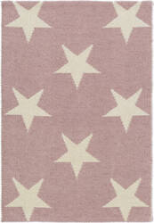 Dash And Albert Star Rdb369 Pink - Ivory Area Rug
