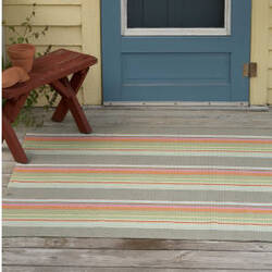 Dash And Albert Stone Indoor - Outdoor Soup Area Rug