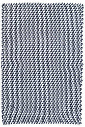 Dash And Albert Two-Tone Rope Indoor - Outdoor Navy-White Area Rug