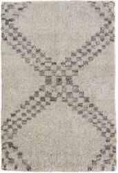 Dash And Albert Zillah Knotted Grey Area Rug