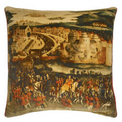 Designers Guild Cloth Of Gold Pillow 176018 Peridot