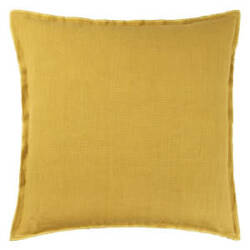 Designers Guild Brera Lino Pillow 175983 Ochre