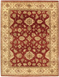 Due Process Amritsar Mahal Wood Rose - Gold Area Rug