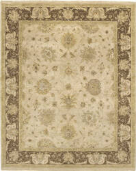 Due Process Amritsar Mogul Beige - Brown Area Rug