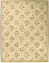 Due Process Aubusson Arras Ivory - Beige Area Rug