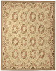 Due Process Aubusson Bayonne Cream Area Rug