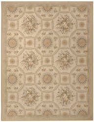Due Process Aubusson Reims Ivory - Gold Area Rug