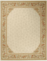 Due Process Aubusson Rennes Ivory Area Rug