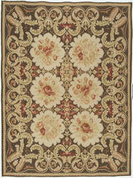Due Process Bessarabian Essex Brown Area Rug