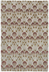 Due Process Empress Arts And Crafts Ivory Area Rug