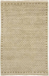 Due Process Gabbeh Speckle Beige Area Rug